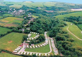 Park Farm Holiday Park From Above